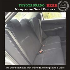 TOYOTA PRADO 120 Series (2002-2009) REAR WATERPROOF NEOPRENE CAR SEAT COVER