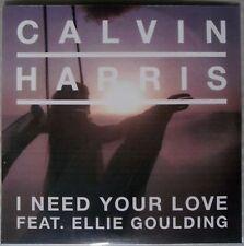 CALVIN HARRIS ft ELLIE GOULDING * I NEED YOUR LOVE * US 5 TRK PROMO * HTF!
