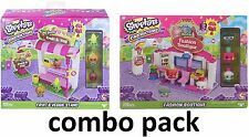 Shopkins Kinstructions Shopping Pack Fruit And Veg Stand + Fashion Boutique
