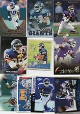 10-amani toomer new york giants card lot #1 nice mix