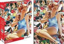 Coca Cola Beauties 1500 piece jigsaw puzzle 830mm x 570mm   (nm)