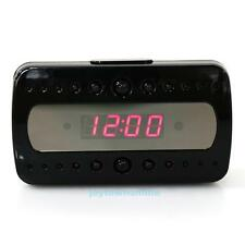 WIFI IP 1080P HD Spy Camera Alarm Clock Motion Detection Hidden DVR Night Vision