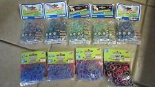 9 Packs of Fun Loom Bands - Assorted Colors - New!!!  (B 2)