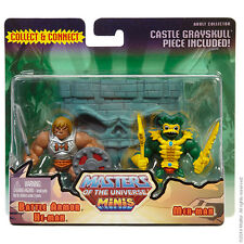 Masters of the Universe Classics Battle Armour He-Man vs Mer-Man Minis Set