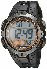 NEW! TIMEX MEN'S T5K801M6 MARATHON BLACK DIGITAL SPORTS WATCH WR 50 METERS