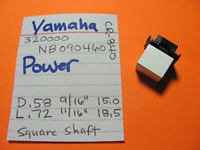 YAMAHA 320000 NB090460 POWER SWITCH KNOB CR-640 CR-840 CR-1040