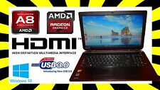 TOSHIBA SATELLITE C55D-B5102 AMD A8 2.0GHz✓ 4GB RAM✓ 500GB HDD✓ Radeon HD
