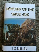 MEMORIES OF THE SPACE AGE J.G.Ballard 1st HC fine OUT OF PRINT MAJOR COLLECTION