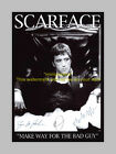 "SCARFACE CASTX3 PP SIGNED POSTER 12""X8"" AL PACINO N2"