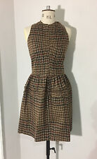 Junya Watanabe for Comme Des Garcons 2005 Vintage brown tweed dress RRP £1,450