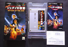 SUPER STAR WARS - RETURN OF JEDI Super Famicom SFC JAPAN Very.Good.Condition !