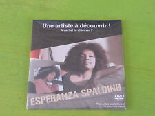 ESPERANZA SPALDING - !!!!!!!!!!!!! MEGA RARE FRENCH PROMO DVD SEALED