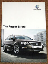 2006-07 VW PASSAT ESTATE Sales Brochure - S SE Sport SEL TDI 4MOTION