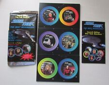 1994 STAR TREK THE NEXT GENERATION Stardiscs Pogs Milk Caps Cards