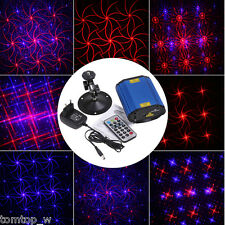 Mini Projector Voice control Laser Stage Lighting Club Disco Party R&B Lighting