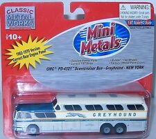 Mini Metals -HO- #33109  1954 GMC PD4501 Scenicruiser Bus, - NEW YORK