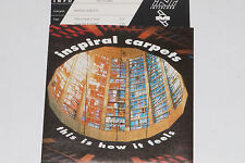 "INSPIRAL CARPETS -This Is How It Feels- 7"" 45 mit Product Facts Promo-Flyer"