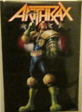 ANTHRAX POSTER  RARE NEW POSTER 2006 VINTAGE JUDGE DREDD IM THE LAW