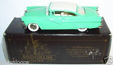 RARE BROOKLIN FORD FAIRLANE 2 DOOR VICTORIA 1956 VERT CLAIR REF 23 IN BOX