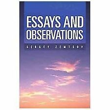 Essays and Observations (Russian Edition)