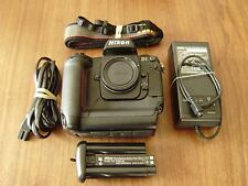 Nikon D D1 DSLR Body Bundle Clean and Working
