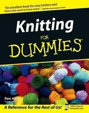 Knitting For Dummies (For Dummies (Lifestyles Paperback)) Allen Paperback