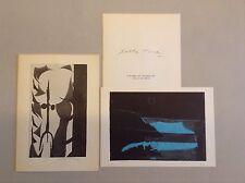 Enrico Della Torre, Mostra alla Galleria Dantesca Fogola Torino John Donne