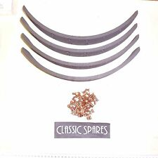 AUSTIN 5 TON TRUCK 1945-1947 NEW FRONT BRAKE LININGS & RIVETS SET OF 4  (ML799)