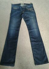 Guess woman jeans blue size 10 UK stunning