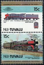 1950 VGR Class R 4-6-4 (Victorian Government Railways) Train Stamps / LOCO 100