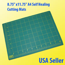 "Cutting Mat A4 8.75"" x 11.75"" Double Side  Pro Grade 3mm Self Healing Art Sewing"