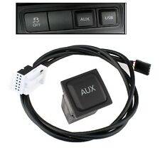 Car Audio AUX Switch + Cable For VW Volkswagen Jetta MK5 Golf GTI Tiguan