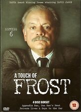 A TOUCH OF FROST - Complete 6th Series. David Jason. ITV (4xDVD BOX SET 2004)