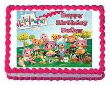 LALALOOPSY edible image decoration party cake topper frosting sheet