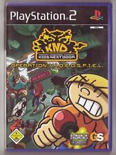 Énfermer nom de code KIDS NEXT DOOR operation: v.i.d.e.o.s.p.i.e.l. (ps2)