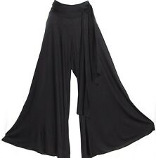 XL TRIBAL GOTHIC GYPSY BOHO FUSION BELLY DANCE DANCING HAREM PALAZZO SASH PANTS
