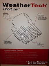 WeatherTech Floor Liners for 2007-2013 BMW X5, 2008-2014 BMW X6 (44095-1-2)