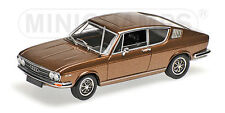 "Minichamps 430019128 # Audi 100 Coupe Baujahr 1969 in "" braun-metallic "" 1:43"