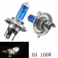 1 Pair 12V 100W H4 9003 Super Bright White Fog Halogen Bulb Car Head Lights Lamp