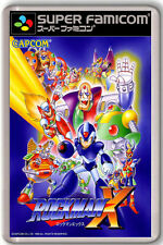 ROCKMAN X SNES FAMICOM FRIDGE MAGNET IMAN NEVERA
