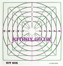 Kit Box - Cake Top Marking Template - For Wedding Cakes And Cake Decorating