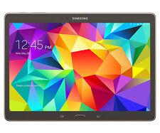 Samsung Galaxy Tab S SM-T807T 16GB 10.5in Wi-Fi + 4G T-Mobile Tablet Bronze