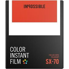 Impossible Project PRD4512 Color Instant Film for Polaroid SX70 Camera PRD2783