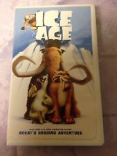 "Ice Age (VHS, 2002, Clam Shell,Includes Bonus Short ""Scrat's Missing Adventure"")"