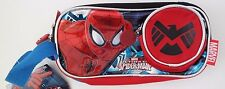 Marvel Ultimate Spider-Man Exclusive 3 Pocket Compartment Pencil Case NWT