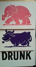 PINK ELEPHANTS AND PURPLE COWS- ADULT AND CHILDREN'S ROUTINES INCLUDED
