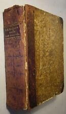 WICHMANN / WALCH: BIBLISCHE HAND-KONKORDANZ, 1782, ERSTAUSGABE, HALBLEDER