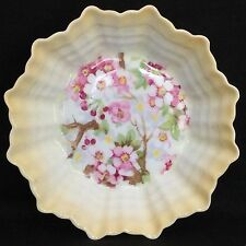 Shelley Maytime Fine Bone China Nut Candy Dish Ombre Fluted Form C.1938-66