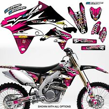 2001 2002 2003 2004 2005 2006 2007 DRZ125 GRAPHICS KIT DRZ 125 SUZUKI DECAL DECO