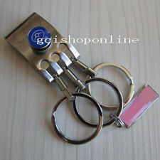 One Multi Removeable Detatchable Key ring 3 removable Keyring Clip Chain Belt